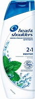 Шампунь HEAD & SHOULDERS 2в1 Ментол 400мл